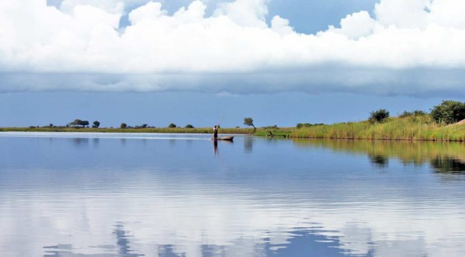 The Okavango Delta: A paradise surrounded by the parched Kalahari