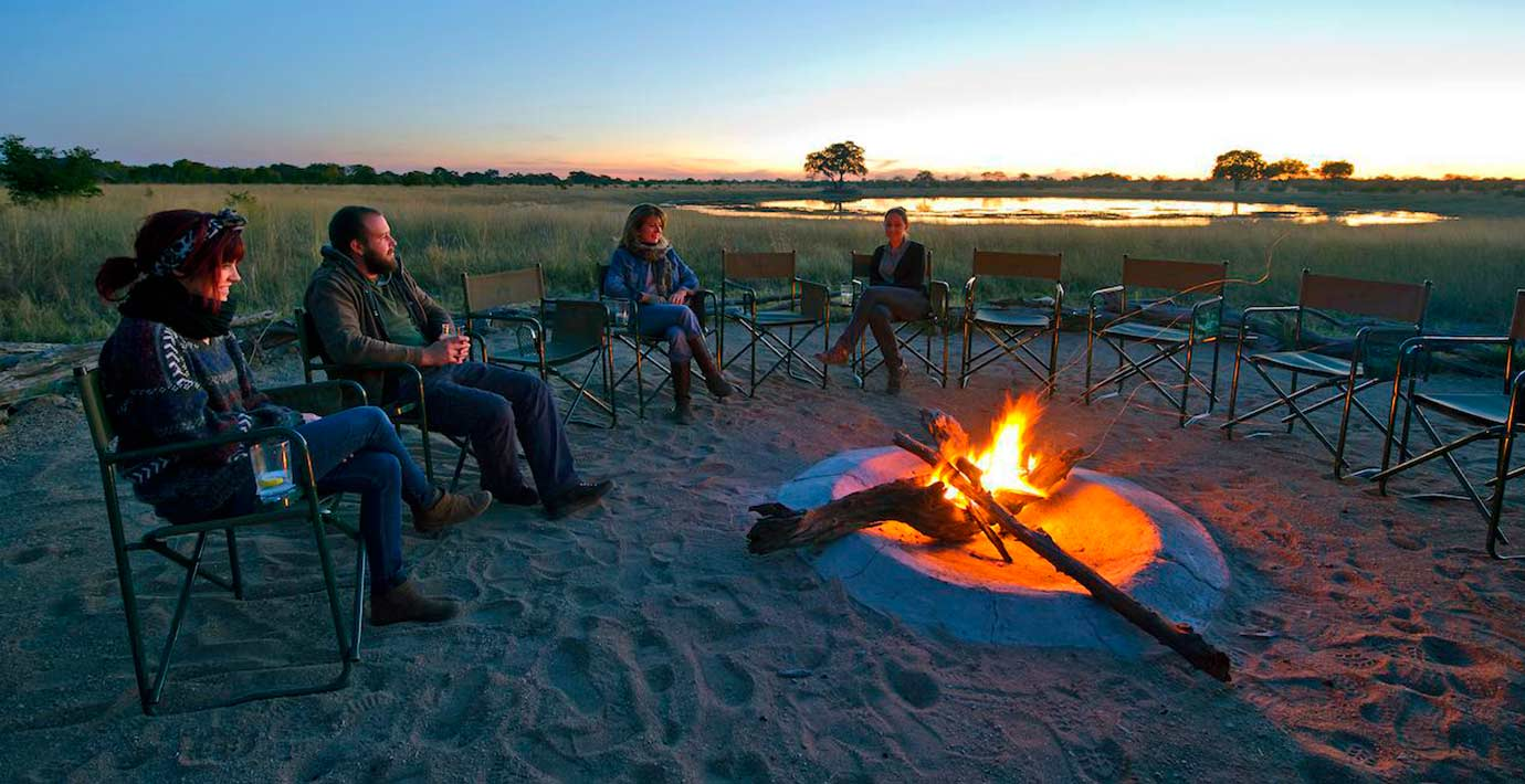 Camp-Hwange-Campfire